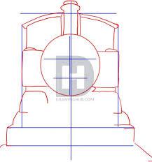 draw thomas tank engine step step darkonator
