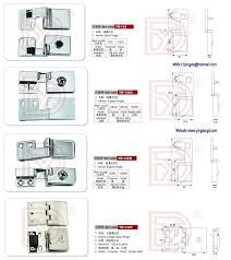 sale different types furniture zinc alloy glass shower door