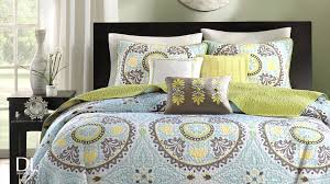 samara 6 piece coverlet set by madison park youtube