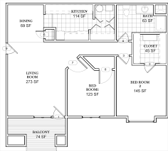 Keystone Floor Plans by 2 Bed 1 Bath Apartment High Pointe Elevate Living