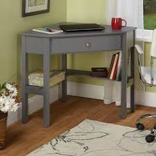 Small Corner Desks Corner Laptop Writing Desk With Optional Hutch Vanilla From