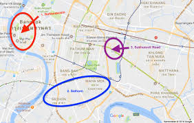Bangkok Map Where To Stay In Bangkok Our Favourite Areas And Hotels U203a 22places