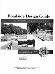 roadside design guide 3rd edition 2006
