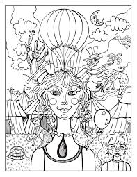 just add color circus coloring book by sarah by tigersheepfriends