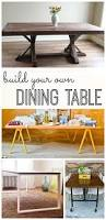 Design Your Own Kitchen Table Build Your Own Dining Table My Life And Kids
