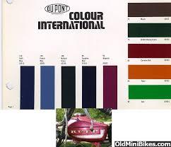 75 rupp magenta paint code needed
