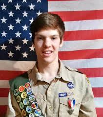 Eagle Scout Flag Danny Gettle And Alex Cannizzaro Achieve Eagle Scout Rank South