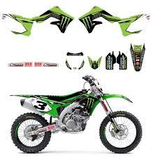 monster energy motocross gear amazon com d u0027cor visuals 2016 monster energy full graphics trim
