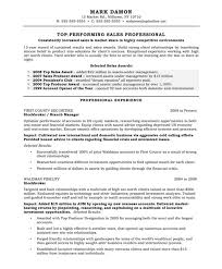 Resume For Sales Resume Templates For Sales Positions Eliving Co
