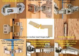 Kitchen Cabinet Door Hinge Door Hinges Types Of Cabinet Hinges For Kitchen Cabinets Amerock