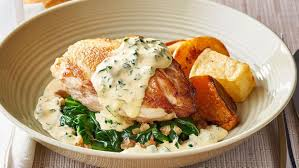 cuisine florentine roast chicken florentine recipe unilever food solutions