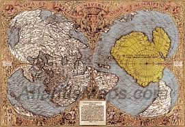 Ancient Map Of Africa by Piri Reis Map Ancient Aliens