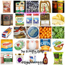 my weight watchers top pantry picks