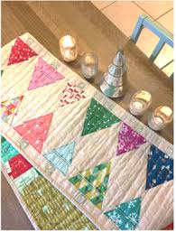 Modern Table Runners Quilt Inspiration Free Pattern Day Christmas Table Runners