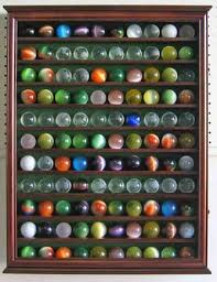 large antique glass marble balls bouncy display