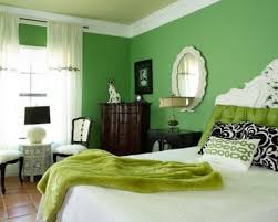 green bedroom ideas colors moods white bed andrea outloud