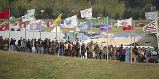 Flags Of All Nations At Standing Rock Protest Camp Becomes A Movement Minnesota