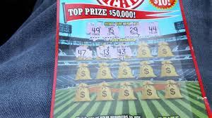 halloween scratch off tickets weekly scratcher home run riches maryland lottery 5 dollar
