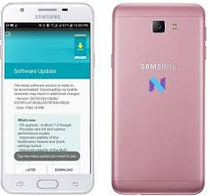 prime android samsung j5 prime sm g570f nougat ota android infotech