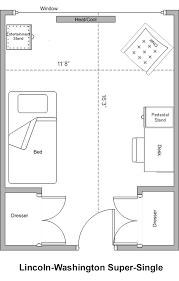 Lincoln Memorial Floor Plan Lincoln Washington Housing Western Illinois University