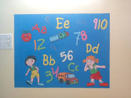 pre school classroom wall murals play school wall painting mumbai
