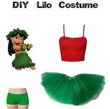 Halloween Costumes Lilo Stitch Diy Lilo U0026 Stitch Halloween Costume Costumes