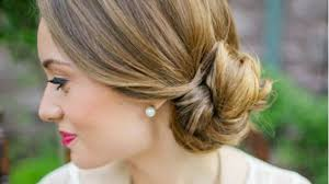 easy low knot bun hairstyle tutorial video dailymotion