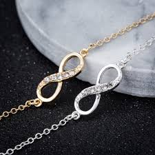 bracelet infinity images Shuangshuo 2017 new fashion infinity bracelet for women with jpg