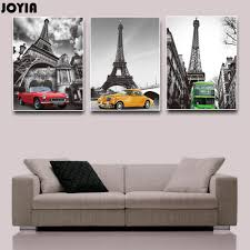 Eiffel Tower Accessories For Bedroom Eiffel Tower Car Canvas Art Promotion Shop For Promotional Eiffel