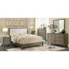 griffith modern weathered toffee veneer solid wood master bedroom
