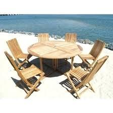 round teak dining table teak outdoor dining table costco round teak outdoor dining table
