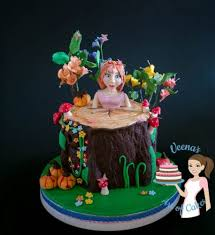 enchanted forest princess cake veena azmanov