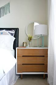 bedroom nightstand night table with storage skinny nightstand
