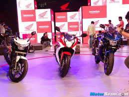 cbr bike rate honda showcases cbr150r cbr250r with updates for 2015