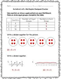 math practice 3rd grade chapter 6 understand division worksheets