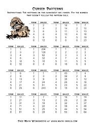 patterning worksheet common worksheets patterning worksheets