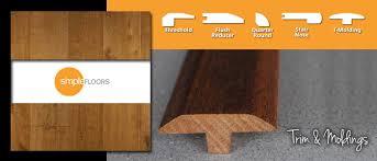 Laminate Floor Trim Flooring Trim U0026 Moldings Simplefloors San Jose Flooring