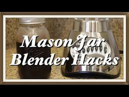 How To Make A Coffee Grinder How To Turn Mason Jars Into A Coffee Grinder U0026 Compact Blender