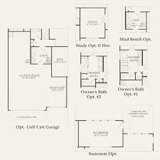 floor plans with inlaw quarters magnolia at sun city texas in georgetown texas del webb