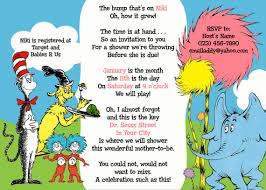 dr seuss invitations printable dr seuss baby shower invitations for one baby or