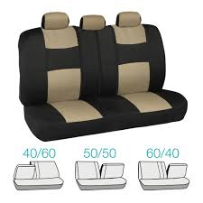 nissan altima seat covers car seat covers for nissan altima 2 tone beige u0026 black w split