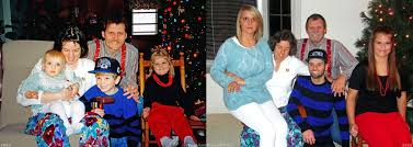 family christmas photos recreation on reddit warms our hearts