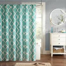 Blue And Green Shower Curtains Shower Curtains For Less Overstock Vibrant Fabric Bath
