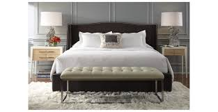 tufted wingback bed the murano tufted wingback bed is a classic
