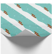 dachshund christmas wrapping paper wiener dachshund christmas wrapping paper the smoothe