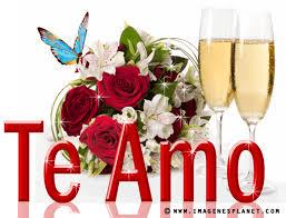 imagenes de amor con rosas animadas te amo con ramo de rosas y vasos de vino animadas imágenes de amor