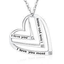 Engraved Pendant Amazon Com Victoria Jewelry