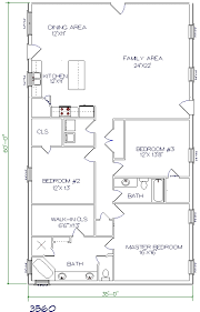 2 bedroom 2 bath house plans floor plans barndominiums