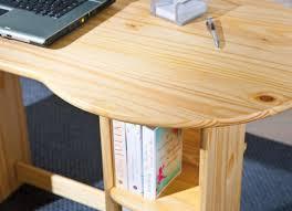 Schreibtisch Massiv Schreibtisch Touchround Kiefer Massivholz
