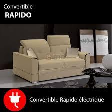 solde canape lit canapé lit convertible rapido électrique canapés pas cher discount